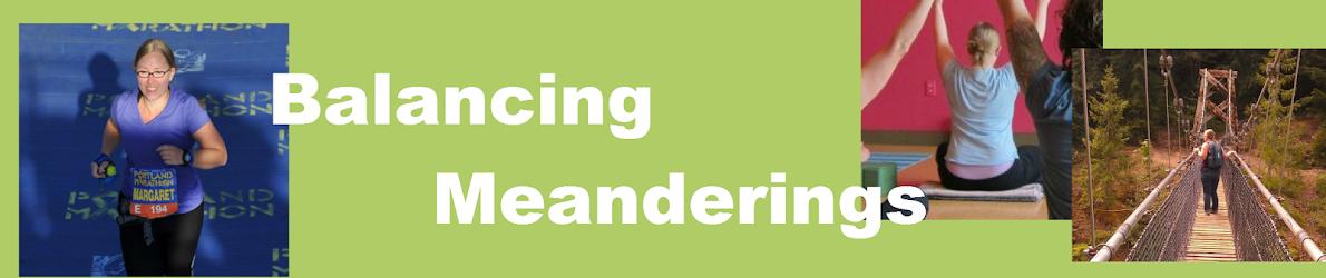 Balancing Meanderings