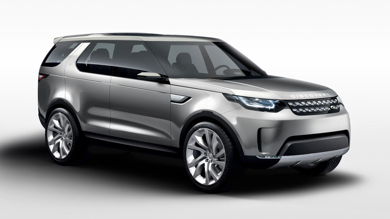 Land Rover Discovery Vision Concept front side