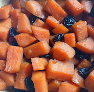 bourbon or brandied sweet potatoes
