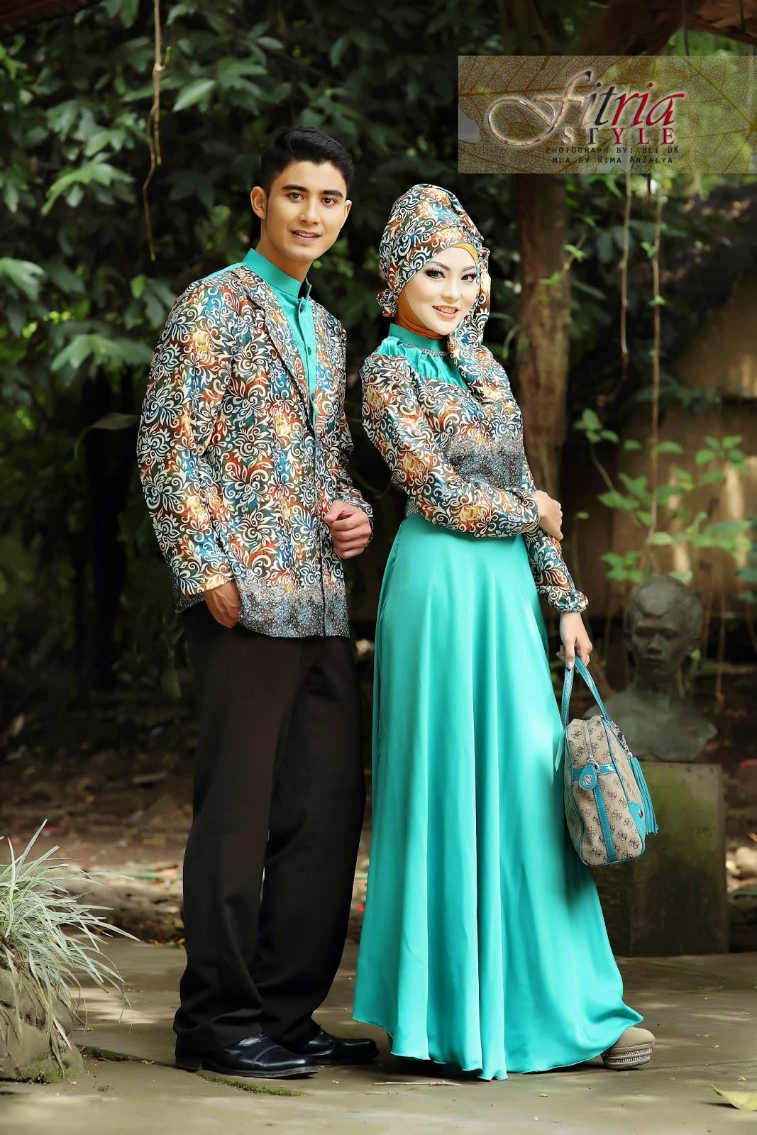 Contoh Baju Busana Muslim Terbaru