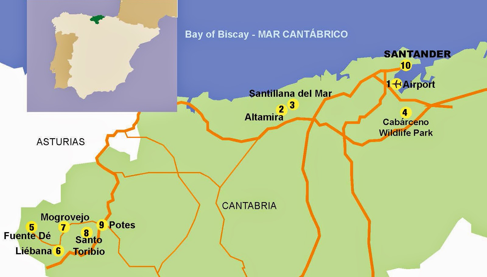 CANTABRIA an alternative Spain HOLIDAYezine