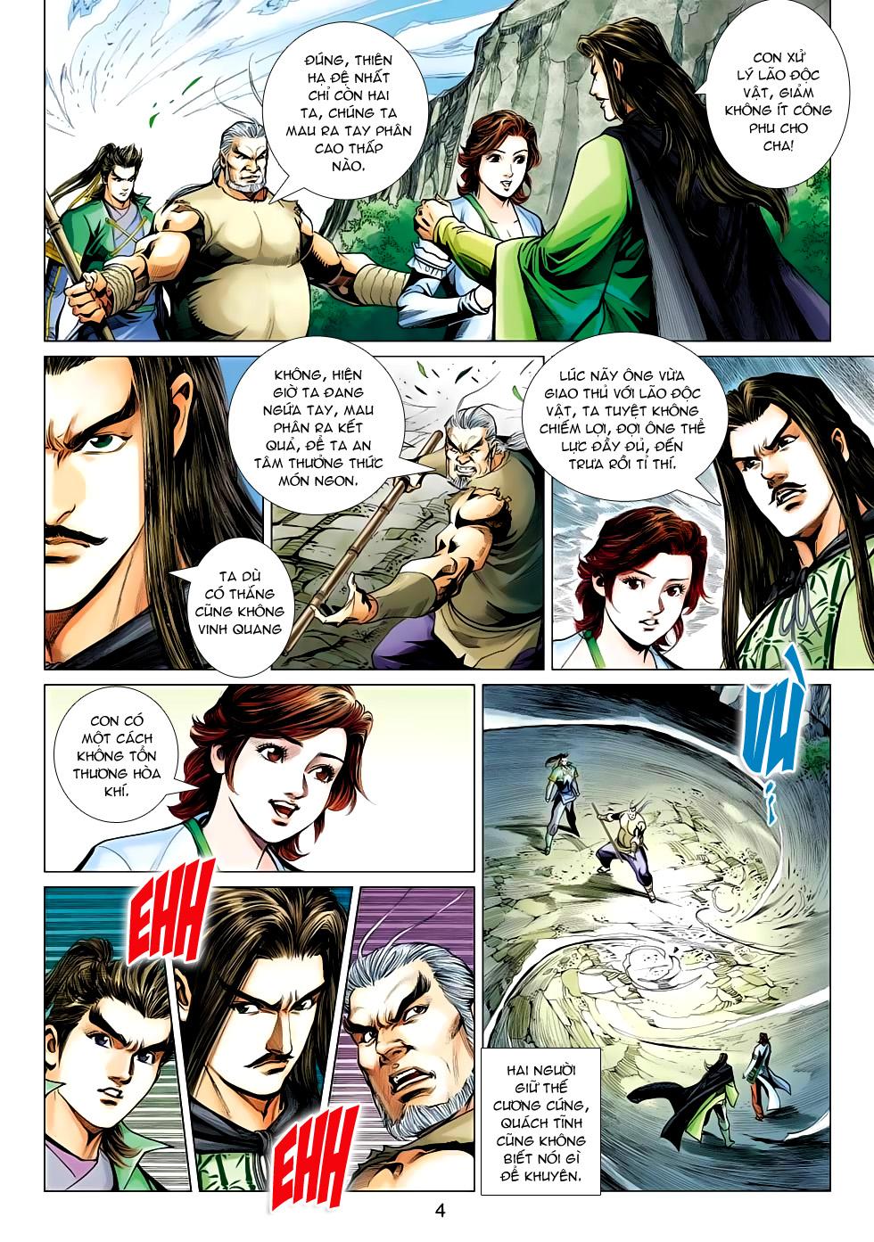 Xạ Điêu Anh Hùng Truyện chap 100 – End Trang 4 - Mangak.info