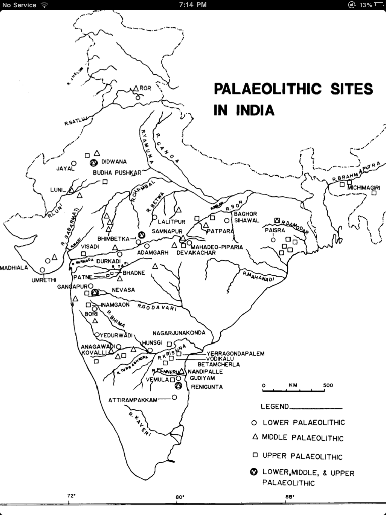 paleolithic age in india