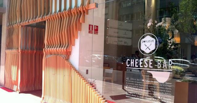 Ilia estudio interiorismo cheese bar madrid for Estudio interiorismo madrid