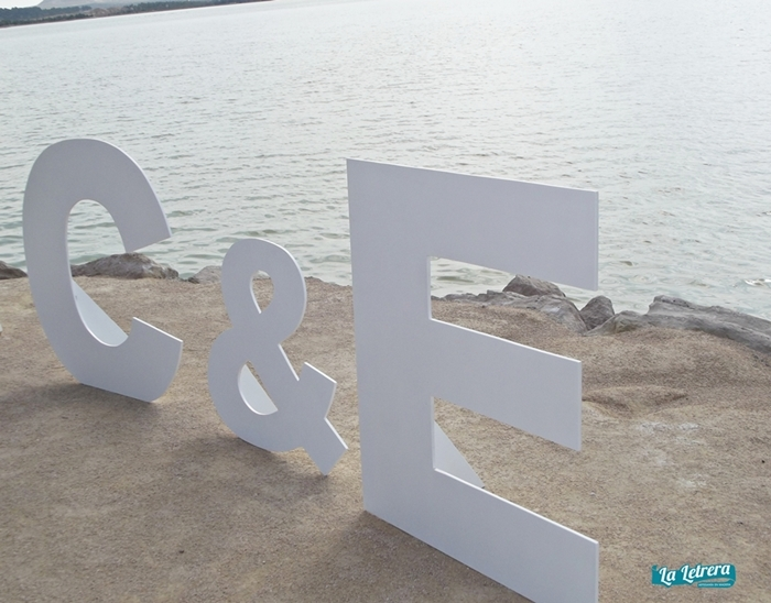la letrera, letras de madera, hecho a mano