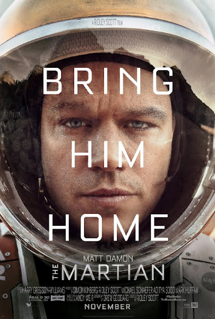 Sinopsis Film The Martian 2015 (Matt Damon, Kate Mara, Jessica Chastain)