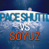 Space Shuttle e Soyuz a confronto