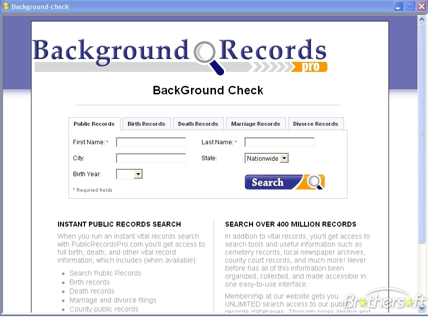 Search Where People Live : Intant Online Results For Criminal Background Check