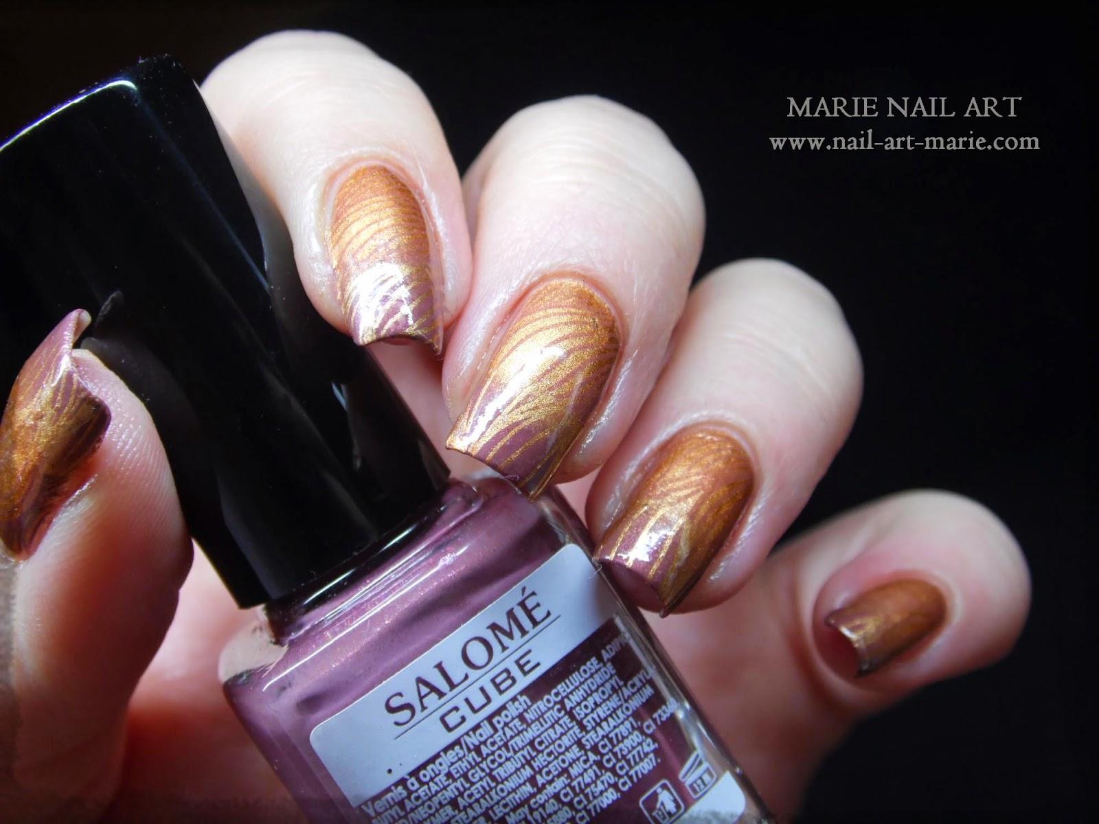 nail art double dégradé8