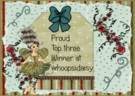 ♥ Top 3 bei Whoopsi Daisy / Oktober 2013 ♥