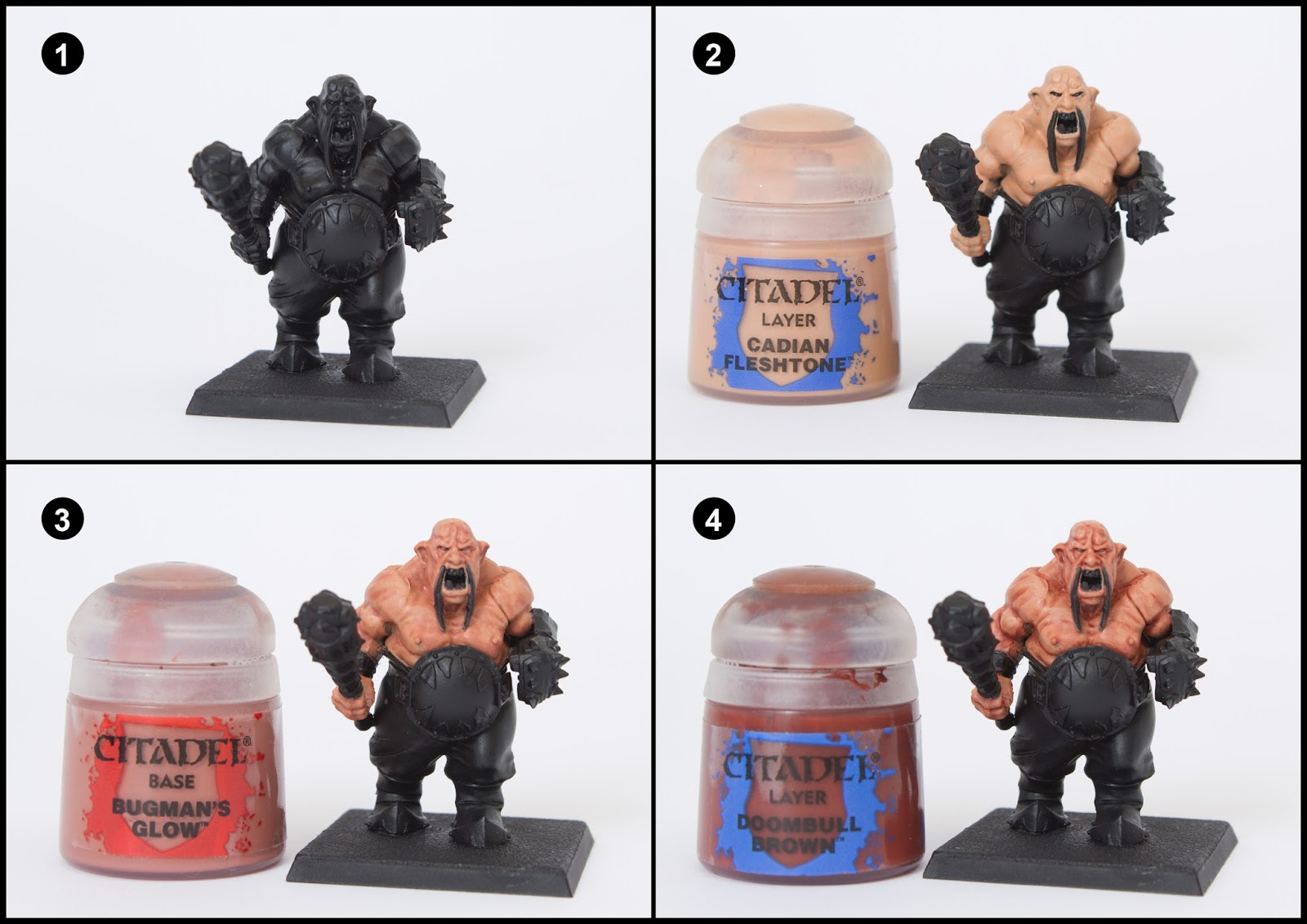Tutorial How To Paint Ogre Kingdom S Ogre Bulls Tale Of