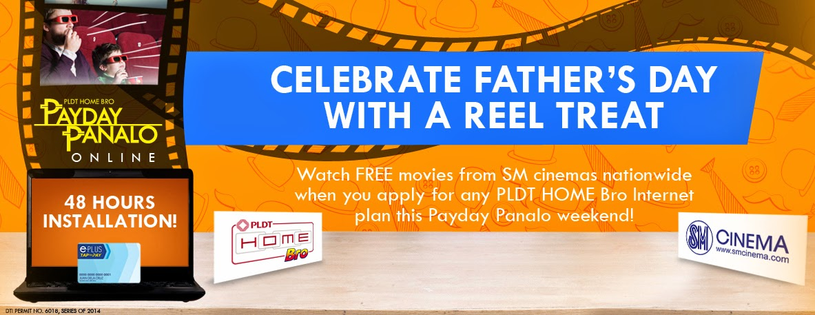 Get a Free SM Cinema Movie Card when You Subscribe to PLDT Home Bro Plans