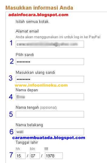 Cara Daftar PayPal Tanpa Kartu Kredit Mudah Dan Gratis