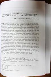 """Prima pagină a articolului publicat în """"Istros"""", XVII, 2011..."""