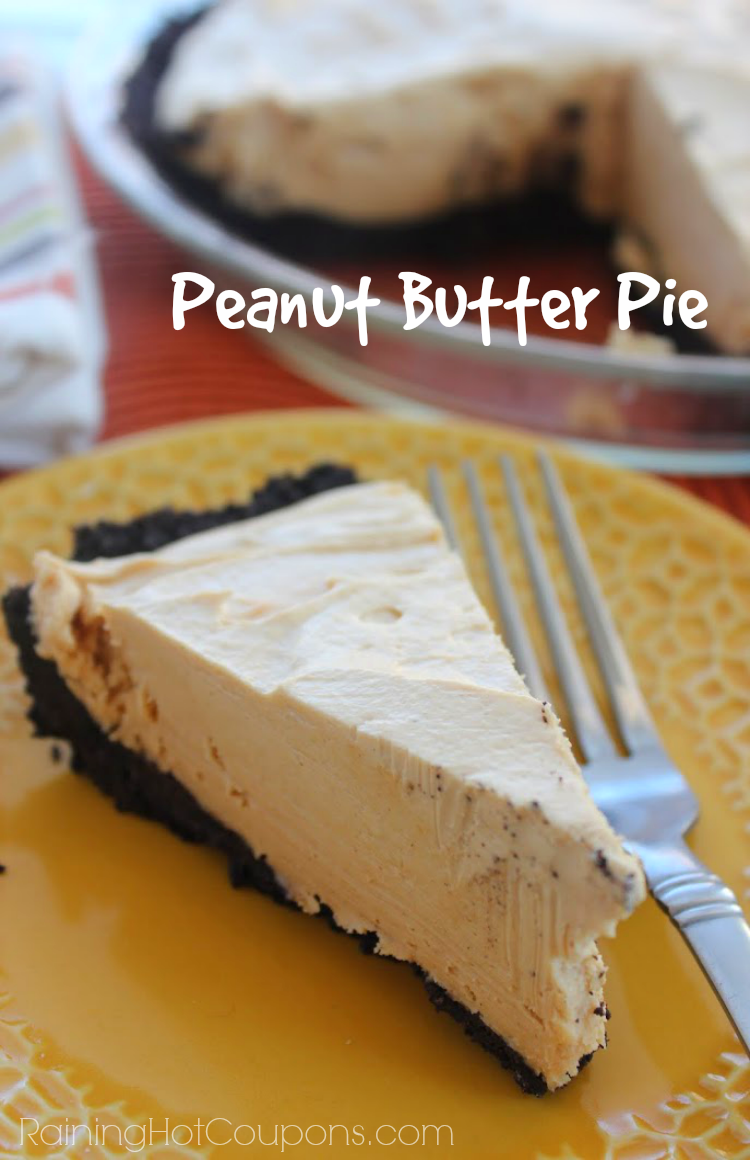 Diy Projects: Peanut Butter Pie