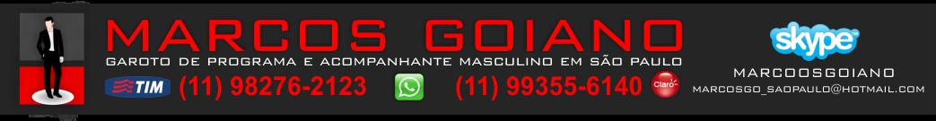 MARCOS GOIANO GAROTO DE PROGRAMA EM SÃO PAULO, ACOMPANHANTE MASCULINO EM SP