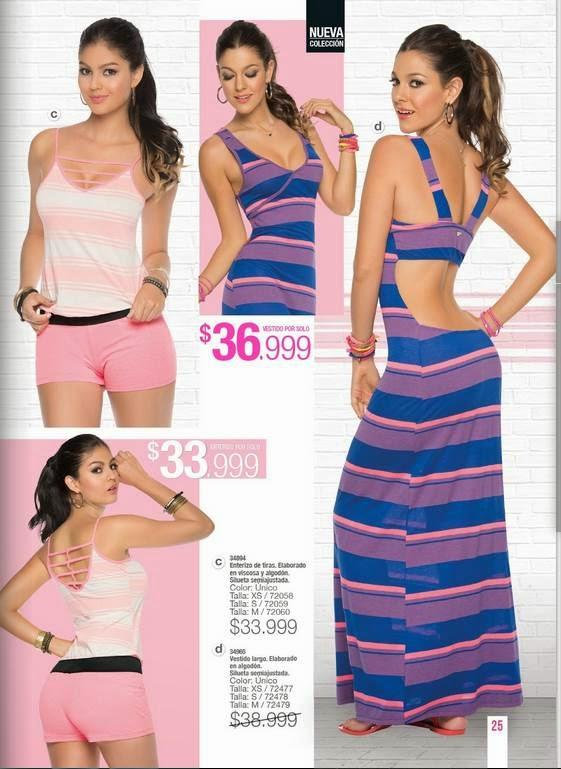 Vestido Largo de Teens C-2 2015