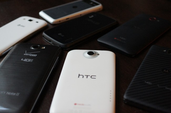 Best android phones 2012