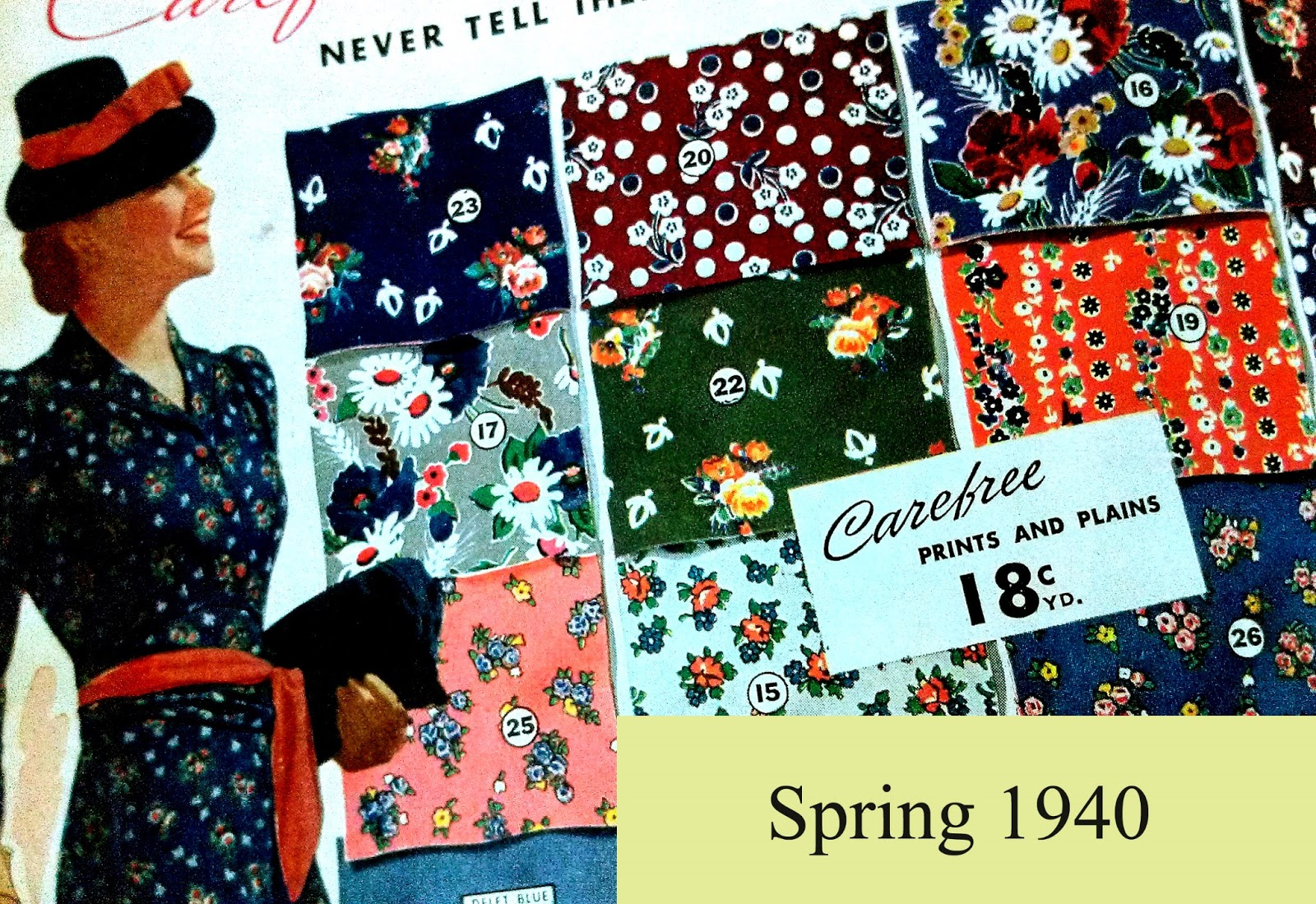 dating vintage fabrics
