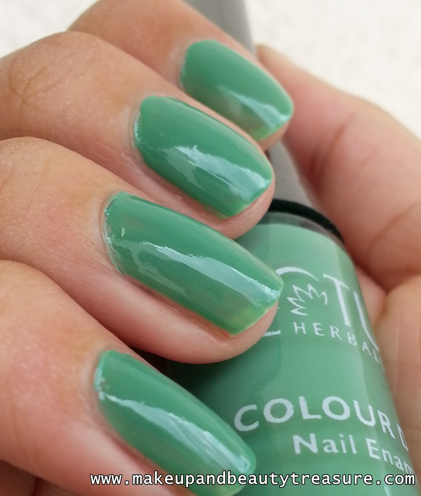 Finger Nail Paint: Makeup And Beauty Treasure: Lotus Herbals Colour Dew Nail