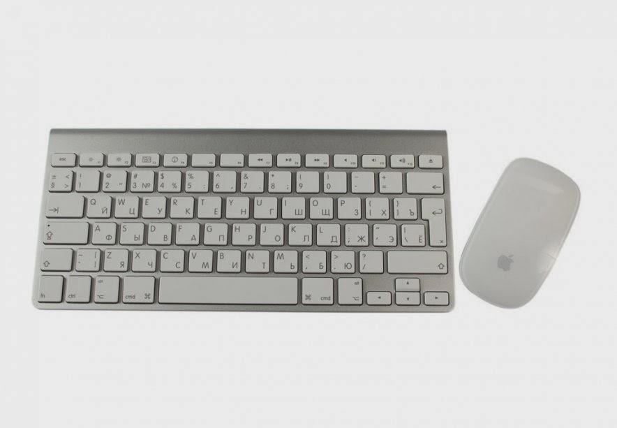 клавиатура и мышь моноблока Apple iMac 27 ME089