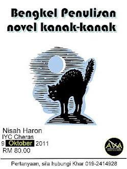 Bengkel Penulisan Novel Kanak-Kanak : 9 Oktober 2011