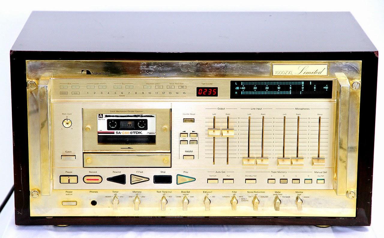 GUERRA CIVIL JAPONESA DEL AUDIO (70,s 80,s) Nakamichi+1000ZXL+Limited+Cassette+Recorder+2