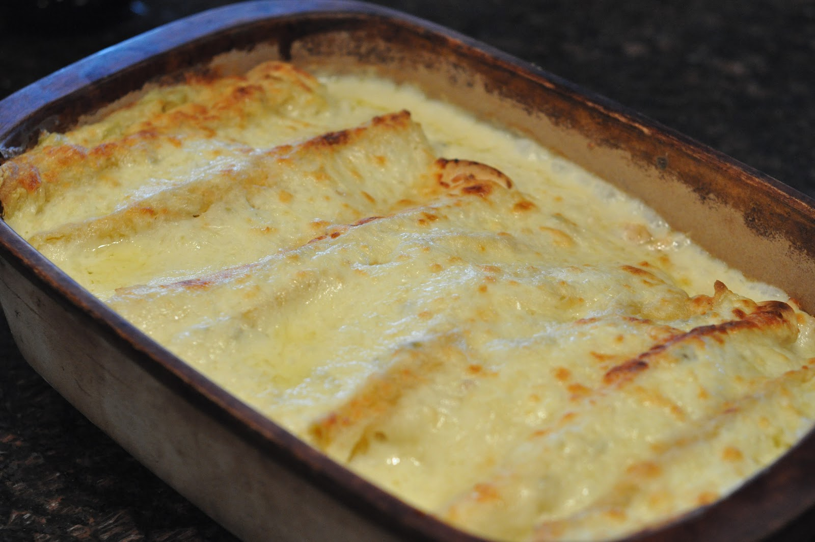 Jahjong: White Chicken Enchiladas