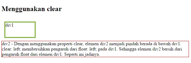 float dan clear