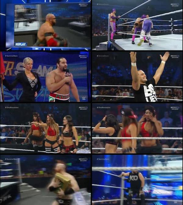 WWE Thursday Night Smackdown 20 Aug 2015 WEBRip 480p