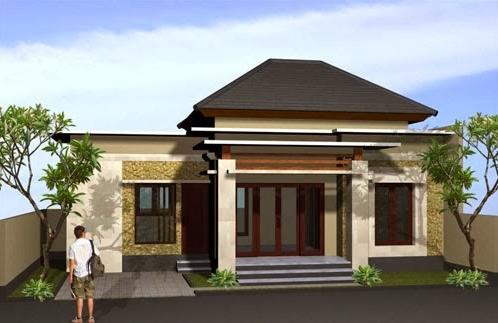 Contoh Gaya Rumah Bali Modern Minimalis Terbaru