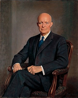 Art now and then dwight d eisenhower portraits dwight d eisenhower white house historical assn 1960 thomas edgar stephens publicscrutiny Image collections