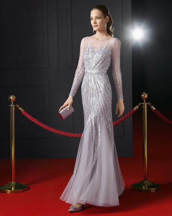 Exclusivos vestidos elegantes de fiesta