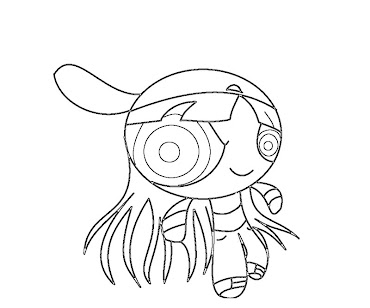 #6 Blossom Coloring Page