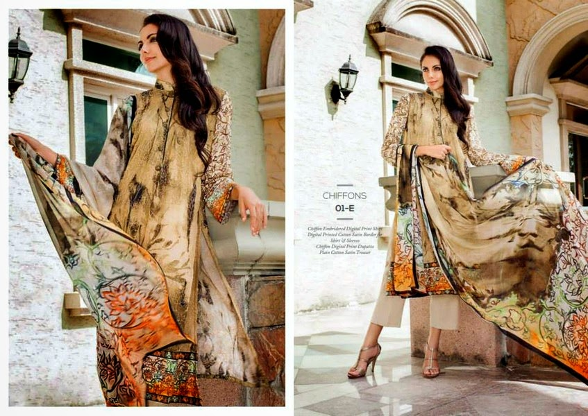 Resham Ghar Eid Collection 2014