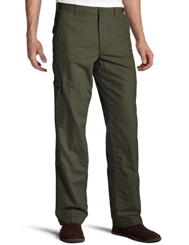 Comfort Cargo Pants: Flat Front Comfort Cargo Pants