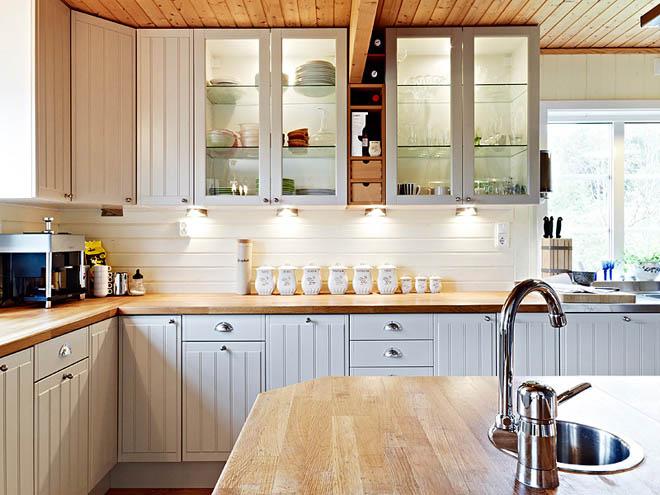 Rustik chateaux for Cocinas modernas para apartamentos