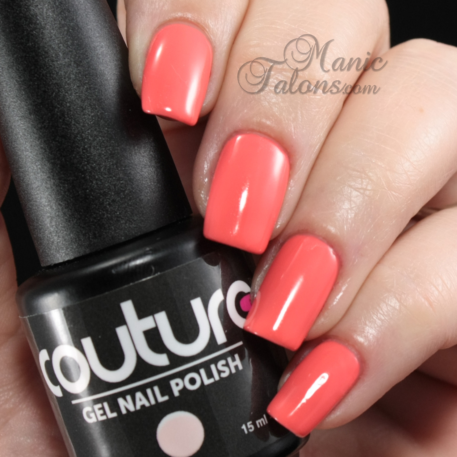 Couture Gel Polish Elegant Finish Swatch