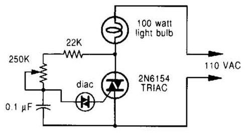 Dimmer-Circuit-Diagram