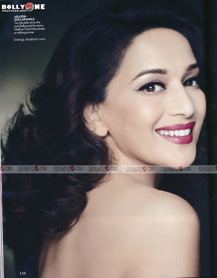 Madhuri Dixit VOGUE Magazine August 2011 Scans