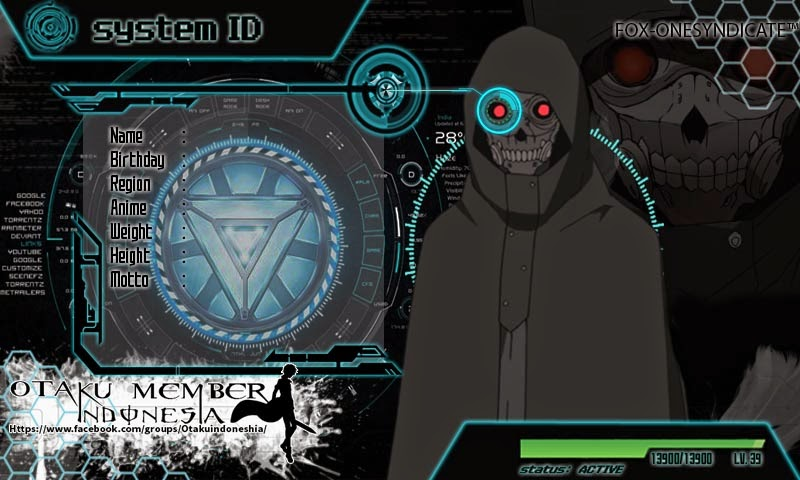 File PSD Id Card Death Gun Sword Art Online