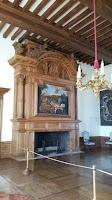 Château de Hautefort. Sala de les xemeneies