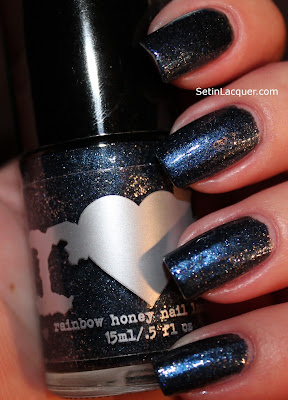Rainbow Honey Kawako nail polish