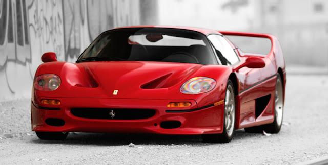 スーパーカーコレクター フェラーリF50