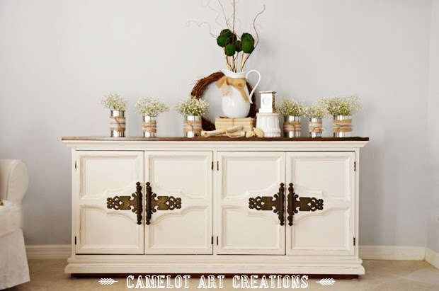 http://camelotartcreations.blogspot.com/2014/02/vintage-buffet-makeover-pottery-barn.html