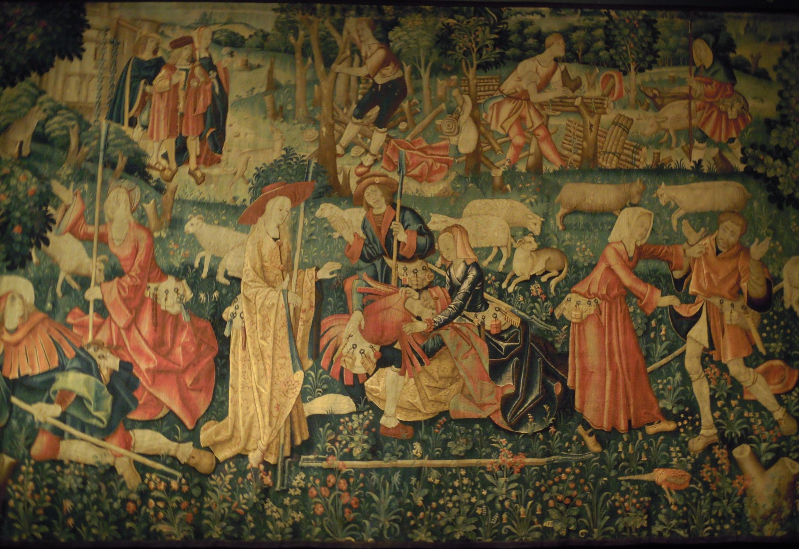 Las palabras m gicas ancient tapestries for The tapestry