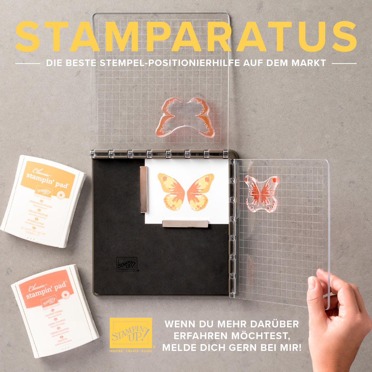 Neu! Stamparatus - Die Stempelpositionierhilfe
