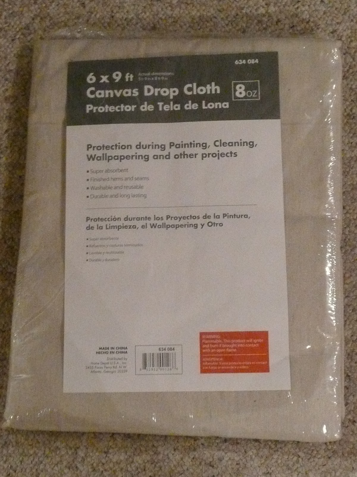 Paint Drop Cloth Curtains Simply Thrifty Save A Penny Painted Horizontal Striped Dropcloth
