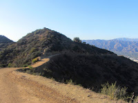 Approaching Baby Bell and the Griffith Park Teahouse, July 24, 2015