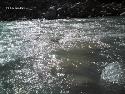 River Ganga in Gangotri, Uttarakhand Himalayas